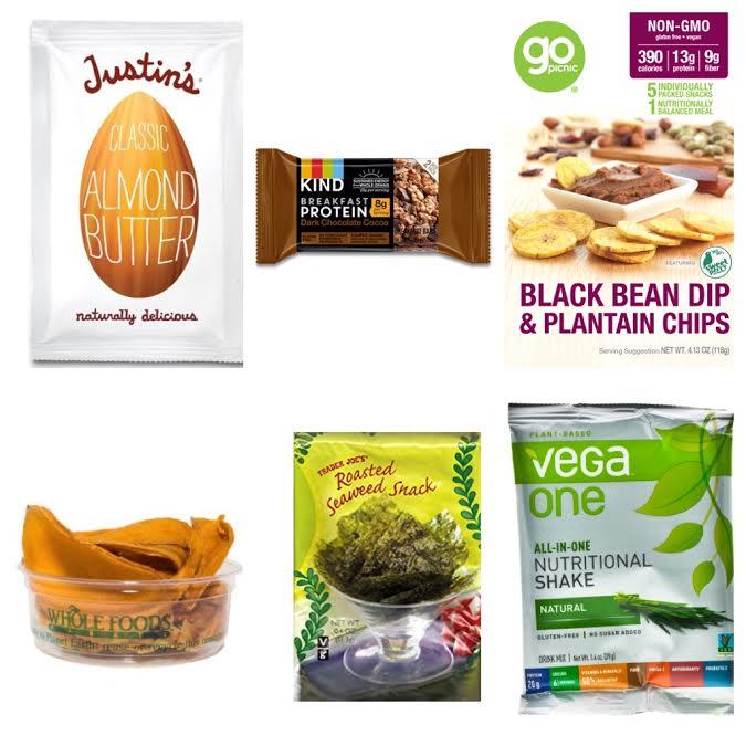 Healthy Vegan TravelSnacks