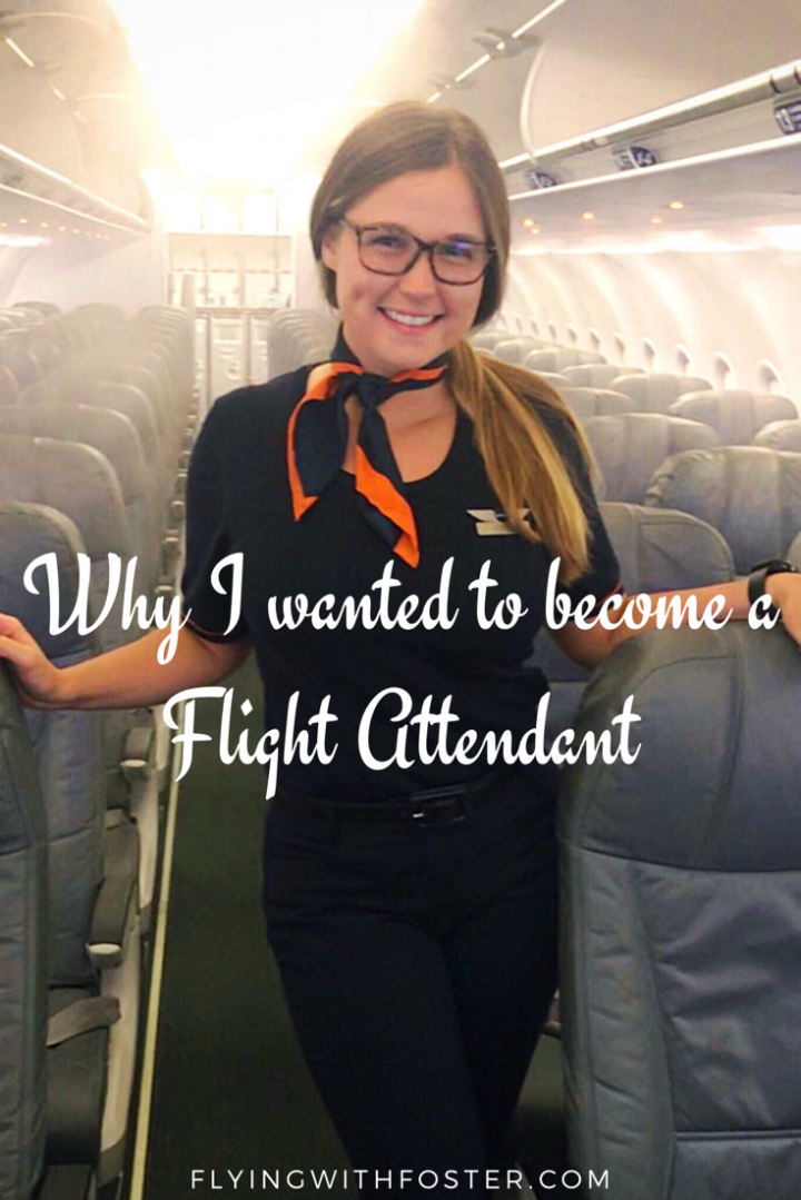 Why I wanted to become a Flight Attendant