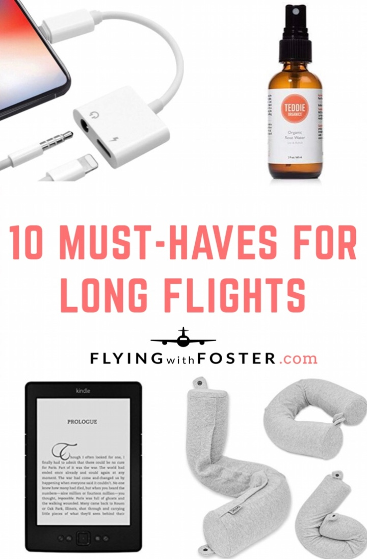10 Must-Haves for LongFlights